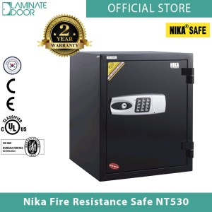 Nika Fire Resistance Safe NT530 black 1
