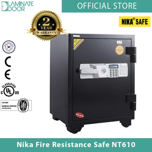 Nika Fire Resistance Safe NT610 black 1