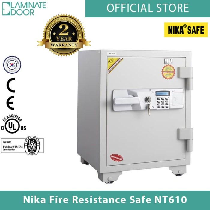 Nika Fire Resistance Safe NT610 white 1