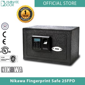 Nikawa Fingerprint Safe 25FPD 1