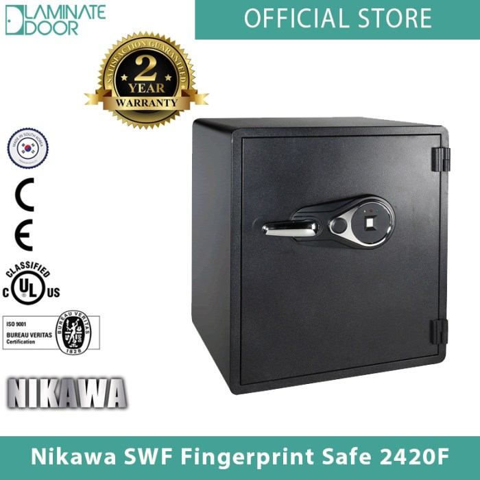 Nikawa SWF Fingerprint Safe 2420F 1
