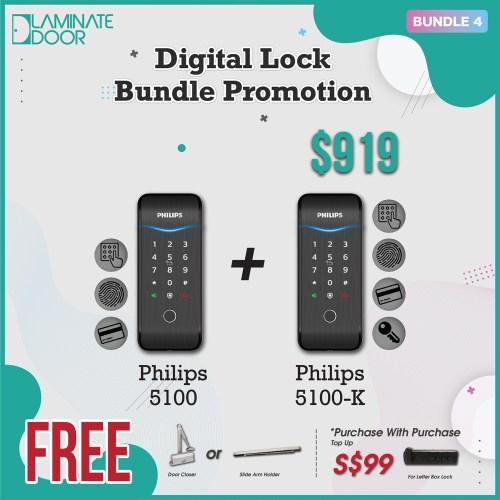 Digital Lock Bundle Promotion