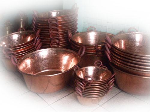El cobre y las ollas la miner a en tu vida - Objetos de cobre ...