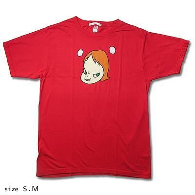 奈良美智 Tシャツ [Pun Pun '99(レッド)]