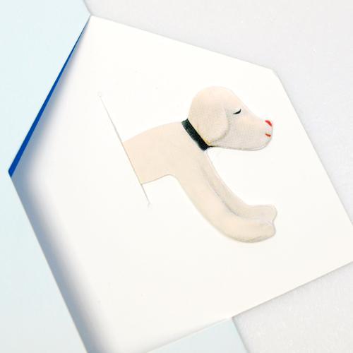 奈良美智 グリーティングカード [Dog from Your Childhood]
