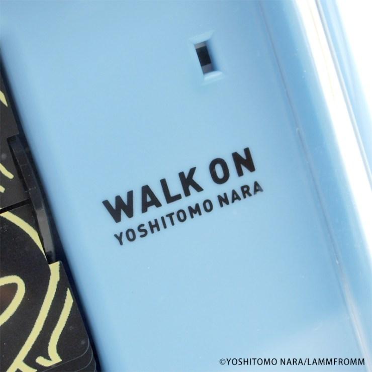 【奈良美智グッズ】 パタパタクロック WALK ON シリーズ(ラムフロムオリジナル)