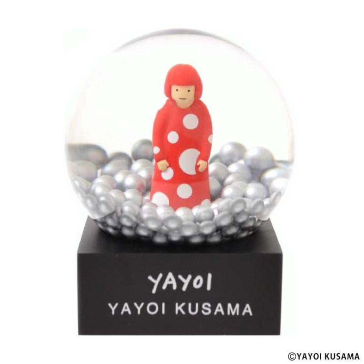 草間彌生 スノードーム [ YAYOI ]