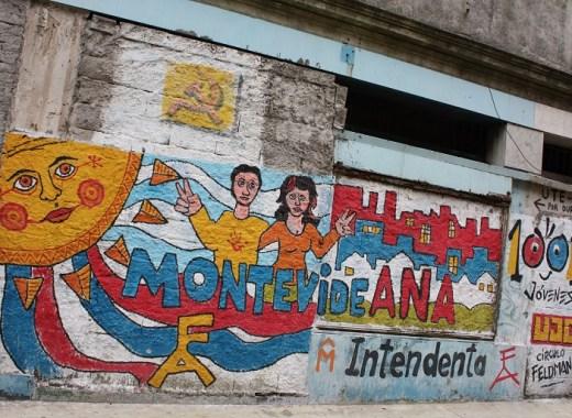 mural de la ciudad vieja de montevideo