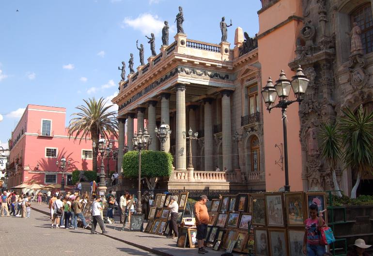 fachada teatro juarez