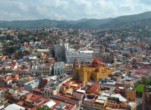 vista de guanajuato desde el Pipila