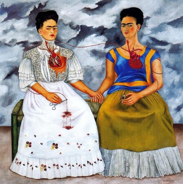 Las dos fridas de Frida Kahlo