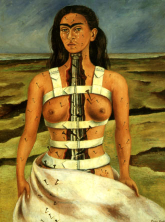La columna rota de Frida Kahlo