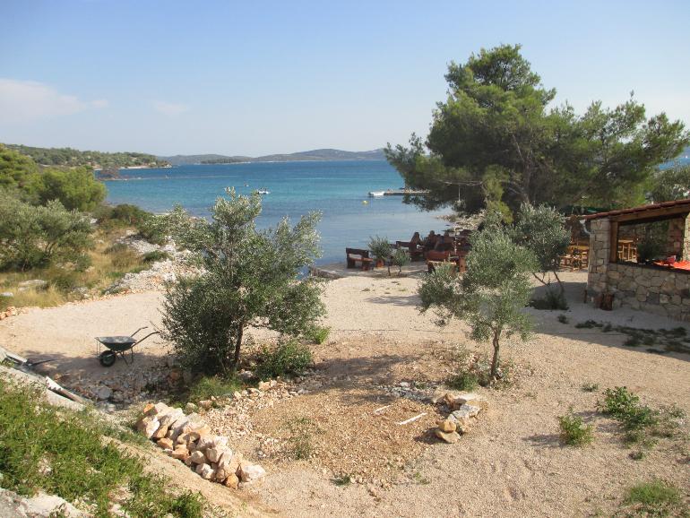 camping en la costa croata