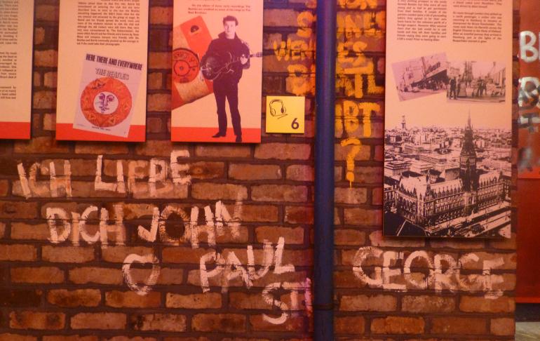 grafiti del museo the beatles