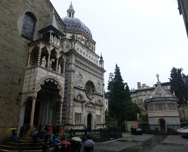 Piazza del Duomo en Bérgamo