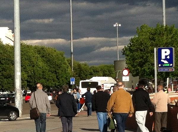 Monumento homenaje a las víctimas del 11-M en Madrid