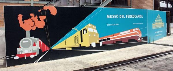 El Mercado de Motores se celebra mensualmente en el Museo del Ferrocarril