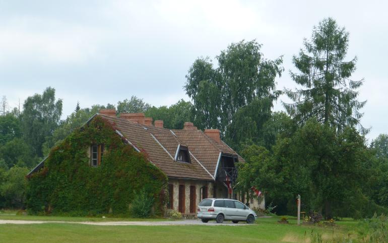 Hotel Rural Karlamuiza en el parque nacional de Gauja