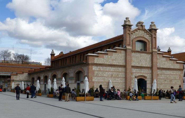 Plaza del Matadero de Madrid donde se celebra el Mercado Central de Diseño