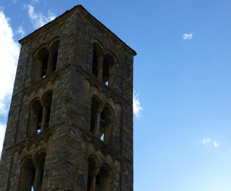 Torre campanario de Sant Climent de Taüll