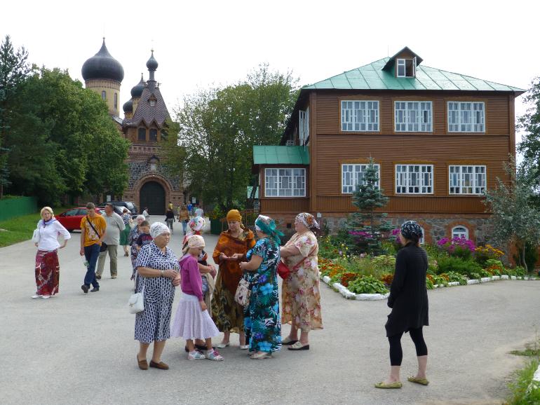 ortodoxos en el convento