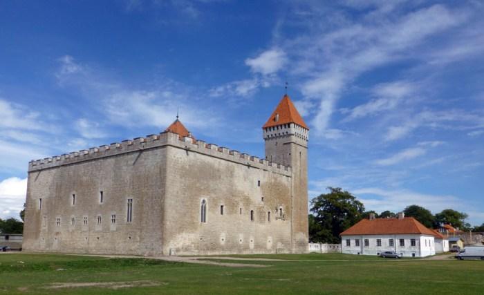 Castillo de Kuressaare en la isla de saaremaa