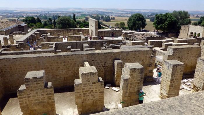 Ruinas de Medina Azahara en cordoba