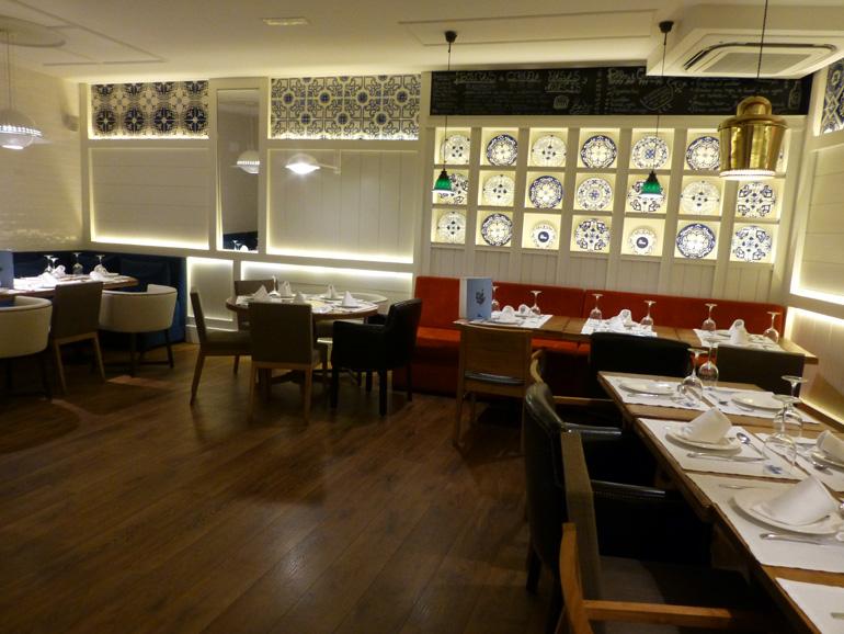 interior del restaurante la mary