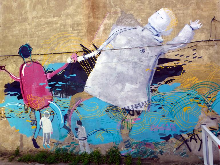 Street art en Užupis