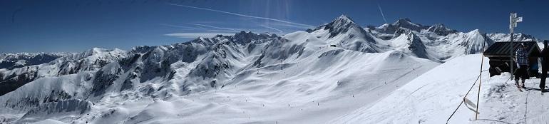 panorámica de la estación de esquí de Peyragudes