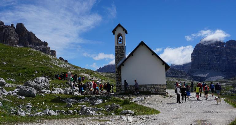 capilla degli alpini