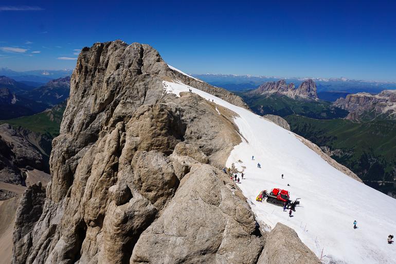 Marmolada, la montaña más alta de las Dolomitas