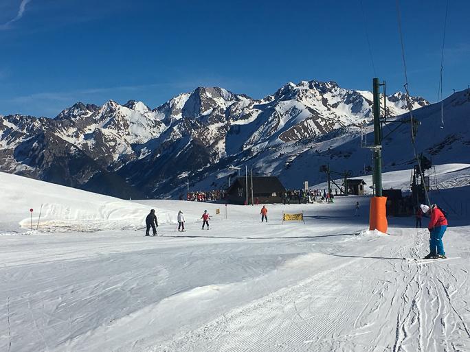 esquiar en Formigal
