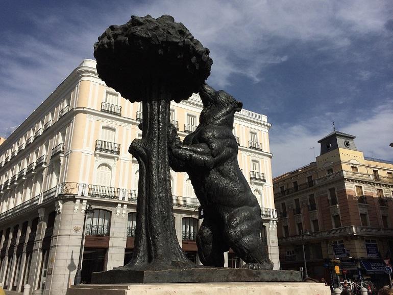 El famoso Oso y el Madroño de la Puerta del Sol