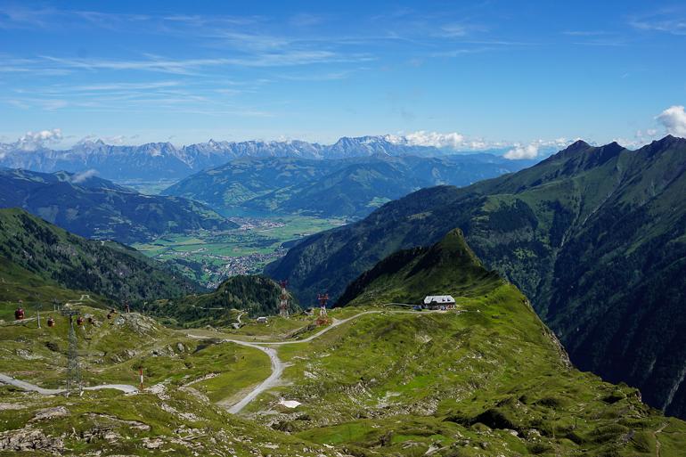 Subida en funicular al glaciar Kitzsteinhorn