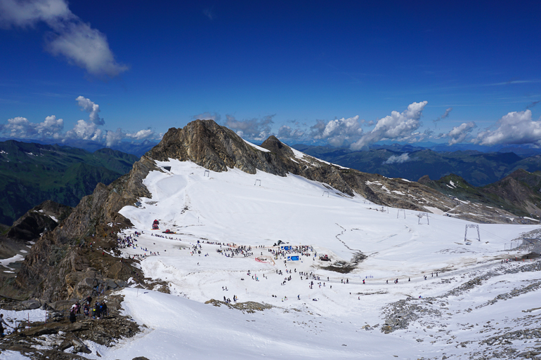 vistas-Gipfelwelt-3000-glaciar-Kitzsteinhorn-austria