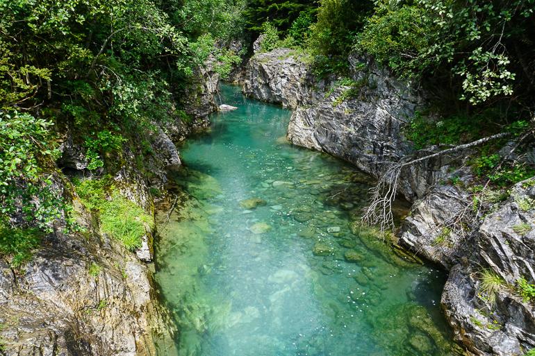 vista del río ara