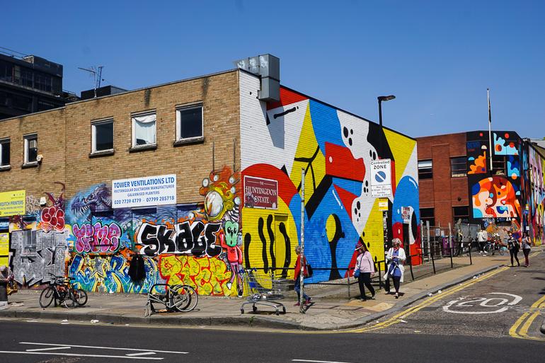 Street art en Shoreditch