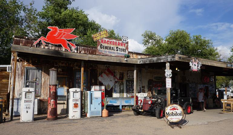 antigua gasolinera hackberry