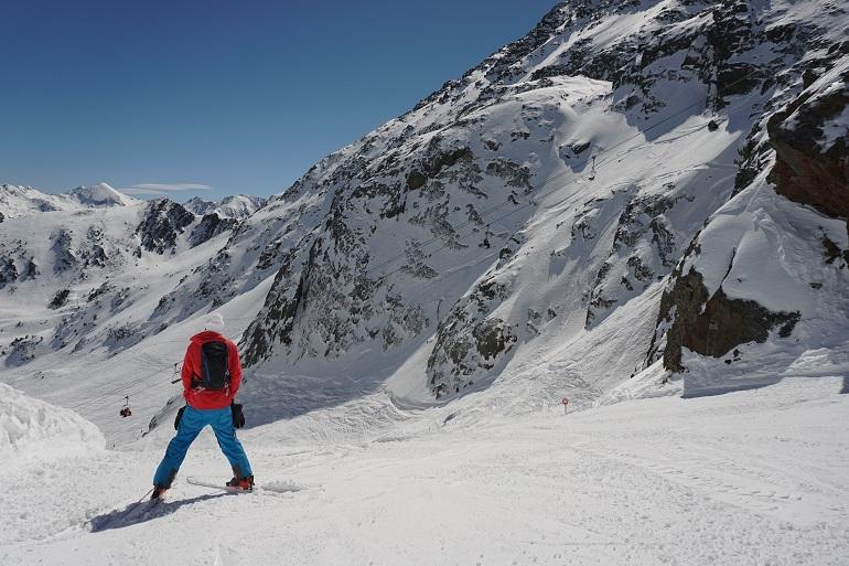 Vista de la estación de esquí de Ordino-Arcalís
