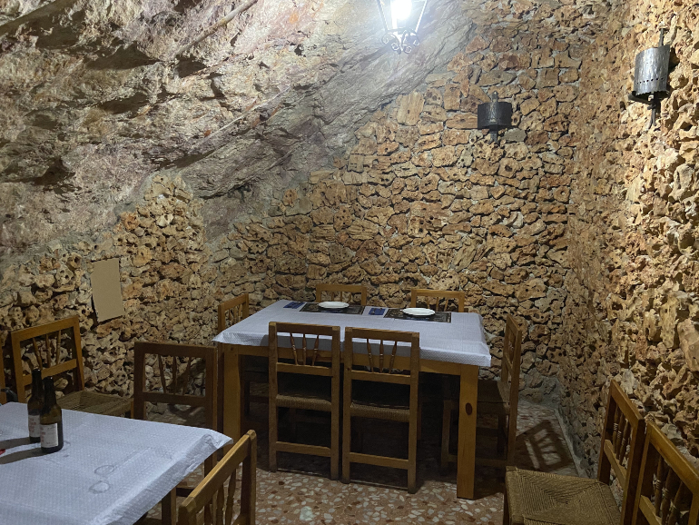 Cueva del restaurante Casino