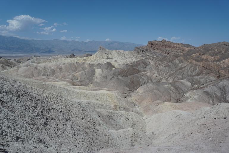 El Valle de la Muerte desde el mirador de Zabriskie Point