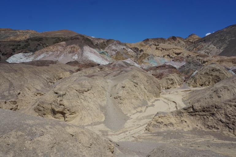 Artist's Palette en Death Valley