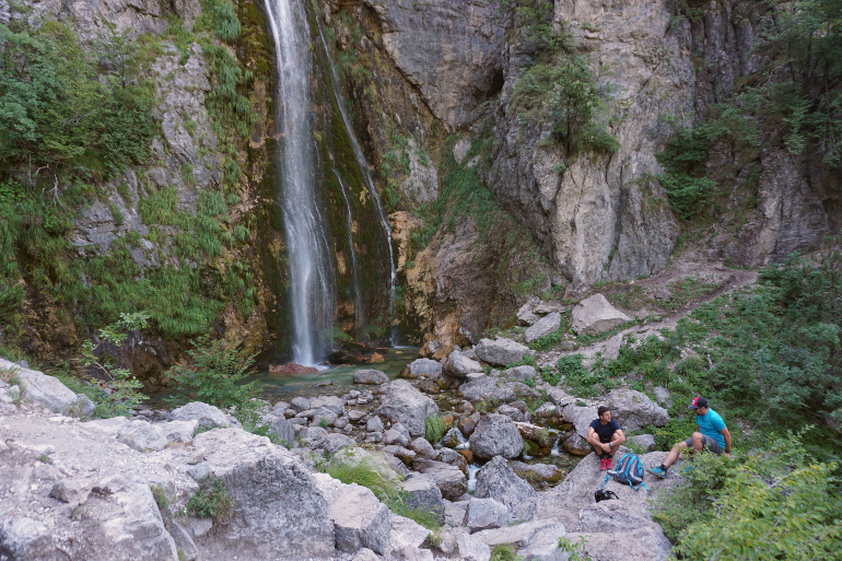 Cascada de Grunas