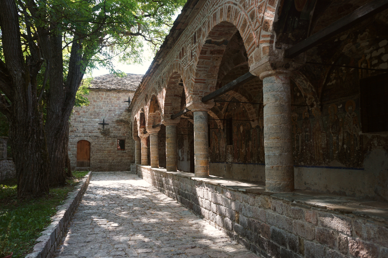 Exterior de la iglesia de San Nicolás