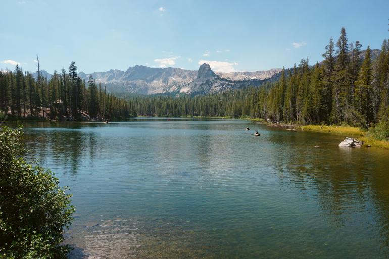 Lake Mamie en Mammoth Lakes