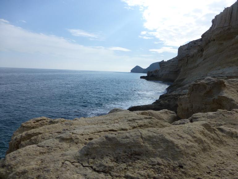Cala del Cuervo en Cabo de Gata