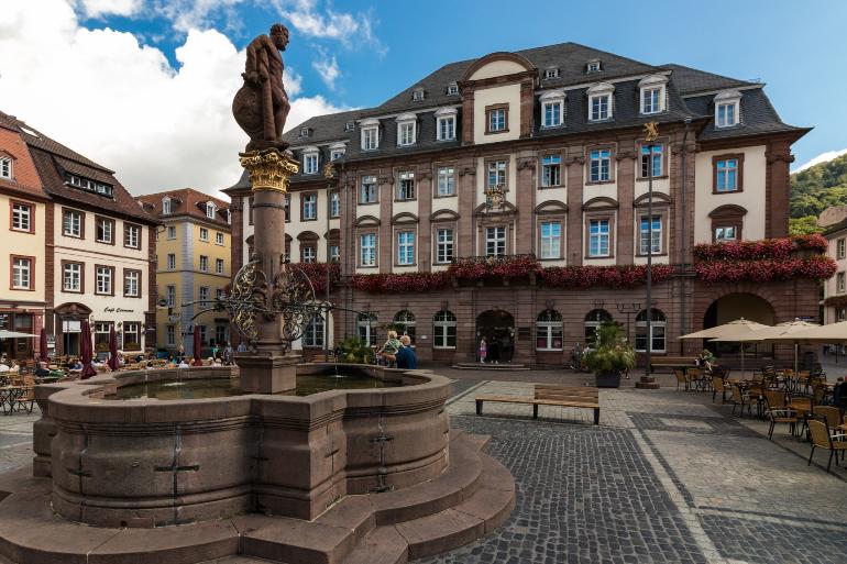 Casco histórico de Heidelberg