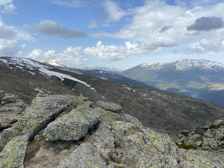 vistas de peñalara desde Bailanderos