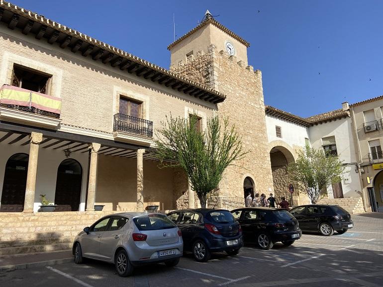 plaza mayor de Iniesta